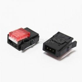 3M 37103-3101-000 FL 3PIN 紅色 公頭 24-26AWG