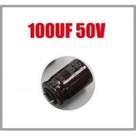 黑金剛電容 100UF 50V KY 8*11.5 (10顆入)