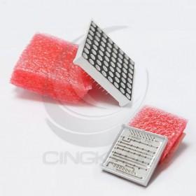 38*38*3.7MM-16PIN 共陽 紅色7段顯示器