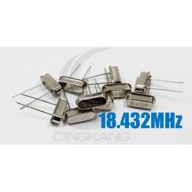 49S型無源晶振 18.432MHz(10入)