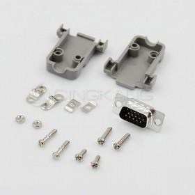 D型接頭保護蓋15P+DB15公 三排 (含螺絲)