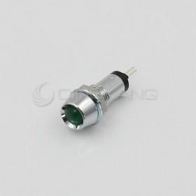 3V 綠色 LED指示燈(大) 牙8mm