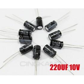 一般電容220UF 10V 6*11 (10顆入)