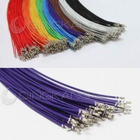 XH2.5 單頭線 紫色 60CM