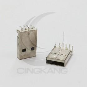 USB A型公頭 90度腳位(白色) (10入)