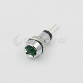 3V 綠色 LED指示燈(中) 牙8mm