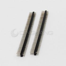 間距2.54mm 雙排 插針 2*40P(2入)