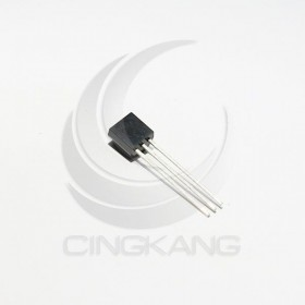 DS18B20(TO-92) 數字溫度器/溫度傳感器 半導體溫度元件