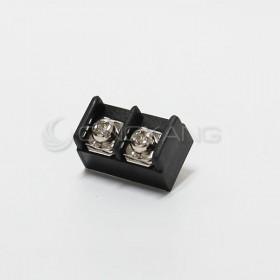 PCB插版式端子台無耳 2P 15A 300VAC 間距:10MM
