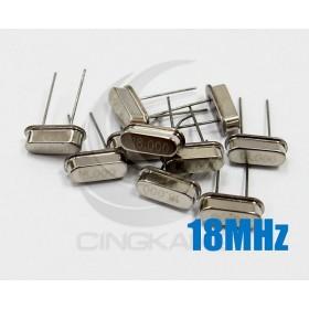 49S型無源晶振 18MHz(10入)