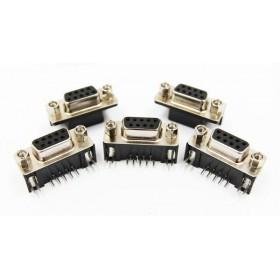 插板式 DR9母 9P 90度彎角(5個/入)