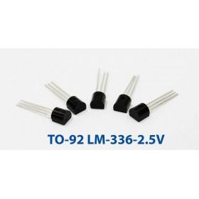 LM336Z-2.5V(TO-92) 電壓基準二極體 (5入) 10mA/2.5V