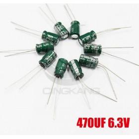 一般電容470UF 6.3V 7*11 (10顆入)