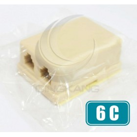6C 雙孔接線盒(MB-6C-2)