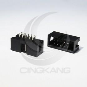 DC3-10P 間距2.54MM 牛角座直針(5入)