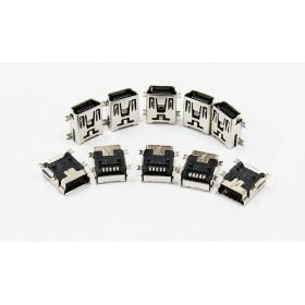 Mini5P USB母座 SMD型 (10入)