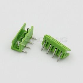 HT5.08-4P/5.08MM 接線端子 公頭-彎針 (2入)