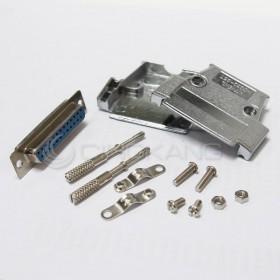 金屬殼 25P+DB25母(含螺絲)