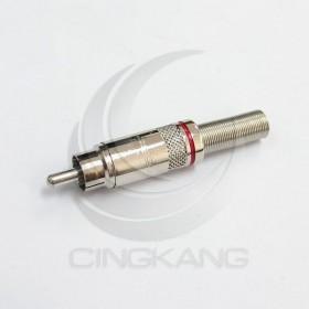RCA 插頭 鍍銀