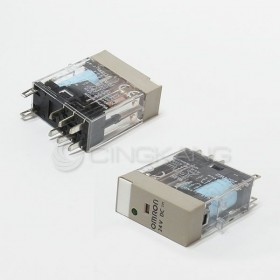 OMRON G2R-2-SND DC24 5A30VDC帶燈 內藏二極體8PIN 閉鎖型繼電器