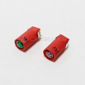 BA7S LED燈 24V-綠色 (插端)
