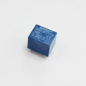 插板式繼電器 QIANJI JQC-3F (T73)6V 10A28VDC 5PIN