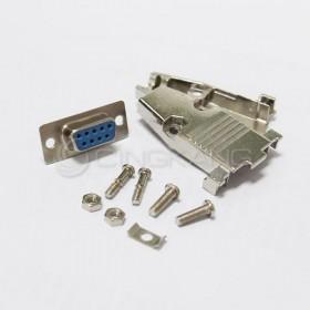 金屬殼 9P+DB9母 (含螺絲)