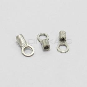 R型裸端子 R1.25-3 (22-16AWG) KSS(100入)