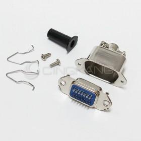 大鐵殼14P 焊線式-母