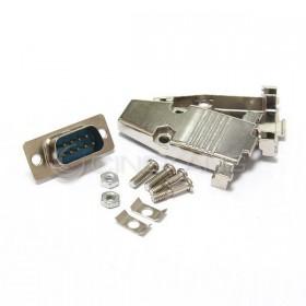 金屬殼 9P+DB9公 (含螺絲)