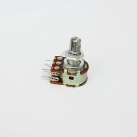 雙聯電位器 B10K 柄長15MM(六腳)