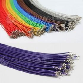 PH2.0 單頭線 紫色 60CM