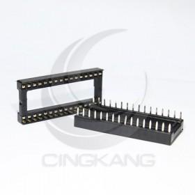 32PIN 寬形方孔  IC座(5入)