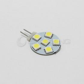 5050 暖白光 6晶 圓形直徑23mm DC12V
