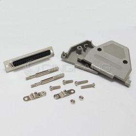 D型接頭保護蓋37P+ DB37母 (附長螺絲)