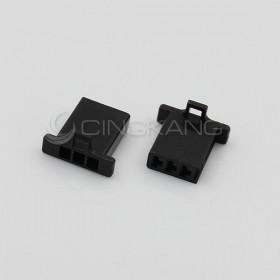 110型連接器-3P 2.80mm  公頭  黑色(20入)