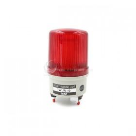 24V LED旋轉型警示燈(出線式)100MM 紅色