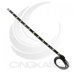 5050 LED 黑底防水燈條 24V  白色 30CM(12燈)