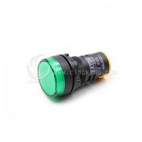 22mm LED指示燈 綠色 12V