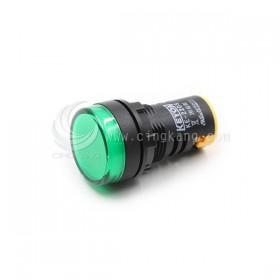 22mm LED指示燈 綠色 24V