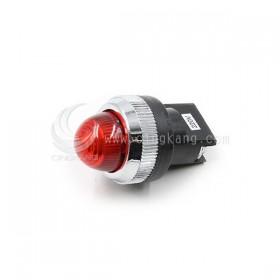 25ψ圓形指示燈-紅色 220V氖氦燈泡 傳統型