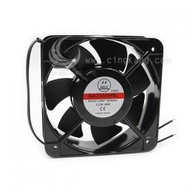 150*150*51mm 220VAC 0.22A 捆珠散熱風扇(出線) (GA2155HBL)