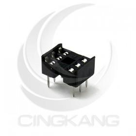 6PIN 窄形方孔 IC座(5入)