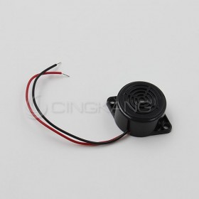 蜂鳴器 12VDC(黑色) 直:25mm  厚:15mm