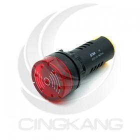 GTEK 22φ閃光蜂鳴器 AC110V紅