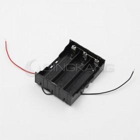 電池盒(帶線) 18650 3顆 (並聯)