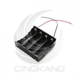 電池盒(帶線) 18650 4顆