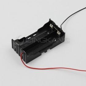 電池盒(帶線) 18650 2顆 (並聯)
