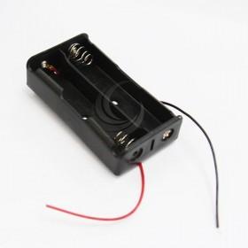 電池盒(帶線) 18650 2顆