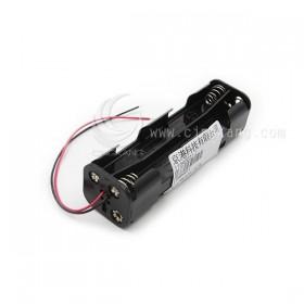 電池盒(帶線)長方型 八顆三號
